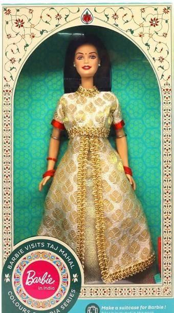 BARBIE In India-Visits Taj Mahal