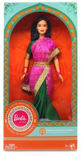 BARBIE in India visits Madurai Palace