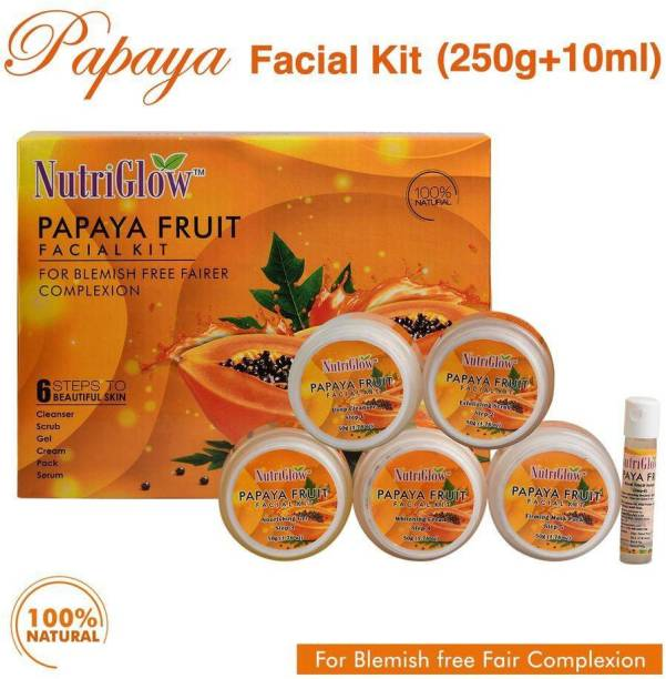 NutriGlow Papaya Fruit Facial Kit