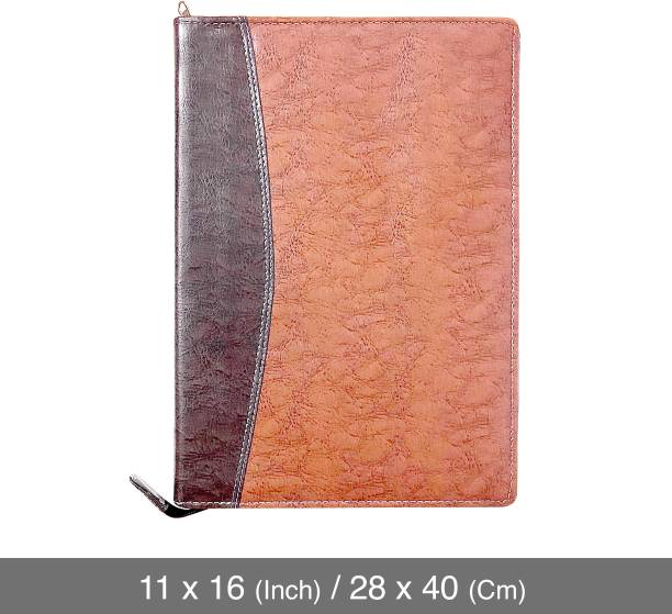 Kavya Creation Leatherette Leatherette Material Professional Files and Folders , Certificate, Documents Holder (20 Leafs )