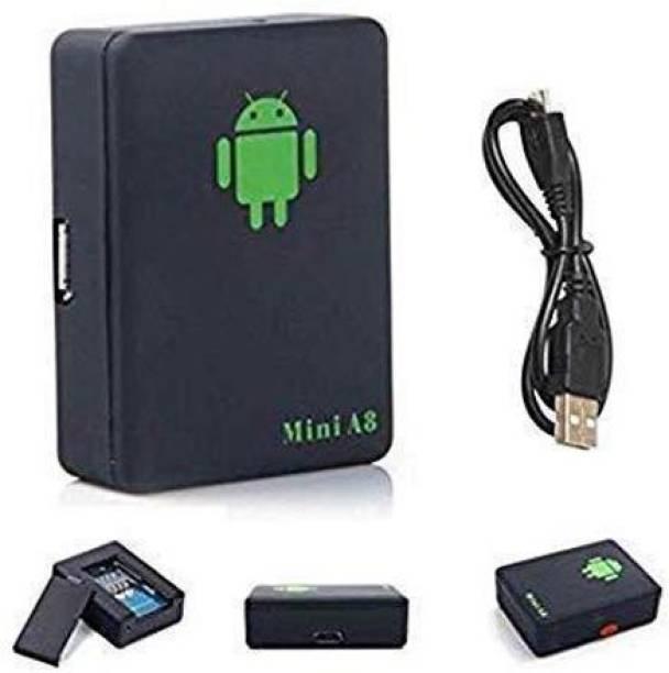 favone Mini A8 Sim Bug GSM/GPRS/GPS Tracker Voice Recorder Technology Spy GPS Device (Black) GPS Device