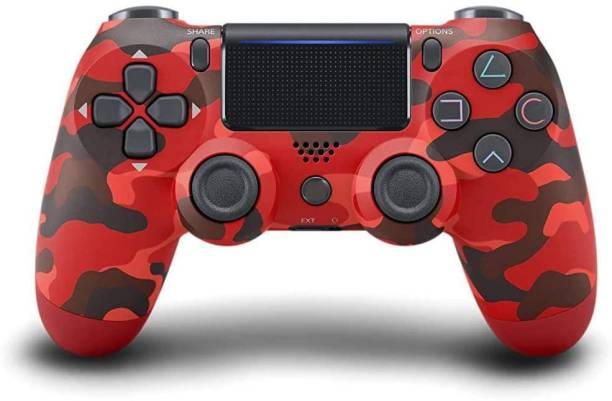 lightgaming Dualshock 4 PS4 Wireless Controller for Playstation4 Motion Controller (Red Camouflage For PS4)  Joystick