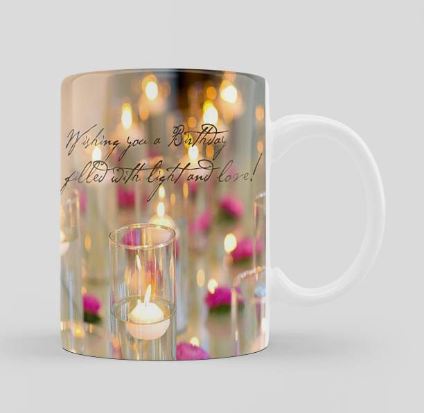 iMPACTGift Premium Quality Happy Birthday Jay And Light Gift For Special One Ceramic Coffee Mug