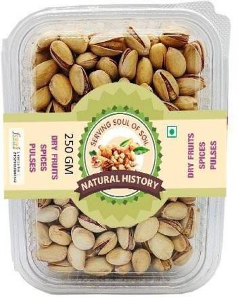 natural history Brand - Roasted Pista 250 Gm Pistachios