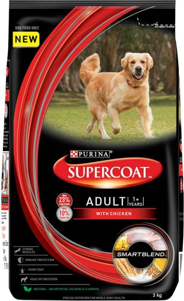 PURINA Supercoat Chicken 3 kg Dry Adult Dog Food