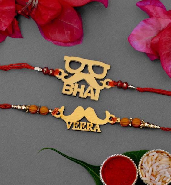Vibhima Trunkbox Designer Greeting Card, Rakhi, Chawal Roli Pack  Set