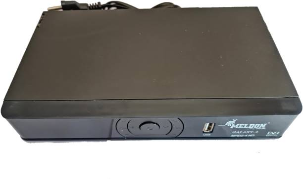 Melbon HD-MPEG4 DIGITAL SET TOP BOX MODEL GALAXY-4 NO MONTHLY REACHARGE LIFE TIME FREE TV LIVE CHANNELS Media Streaming Device