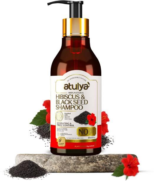Atulya Hibiscus & Black Seed Hair Shampoo