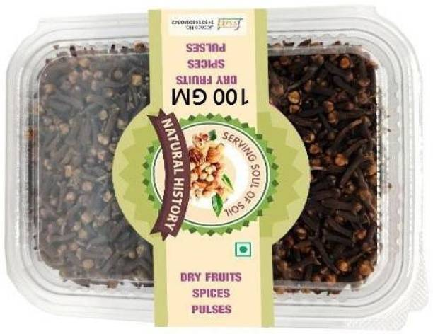 natural history Brand- cloves 100 Gm (Pack Of 1 )