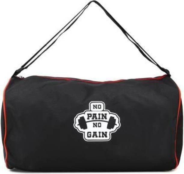 DSPKA No pain no gain red Gym Bag (Kit Bag)