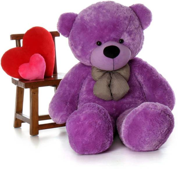 Buttercup Cute Sprinkles Purple 90 Cm 3 feet Huggable And Loveable For Someone Special Teddy Bear  - 90 cm