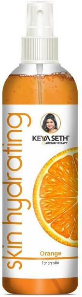 KEYA SETH AROMATHERAPY Skin Hydrating Orange Toner Nourishing, Brightening Oil Control, Natural Glow Enriched with Pure Essential Oil of Orange for Dry Skin Men & Women