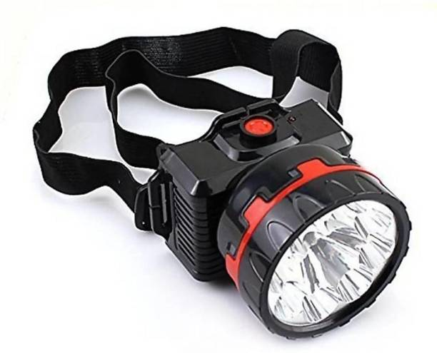 HASRU RECHARGEABLE HEAD TORCH WITH LONG RANGE BRIGHTNESS & HIGH FOCUS Torch Emergency Light