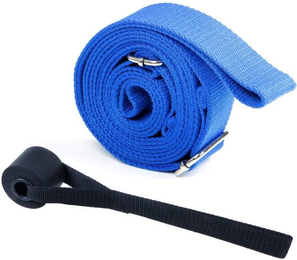 FITSY Leg Stretcher Band 9.8 Feet Length with Buckle Stretching Strap Cotton Yoga Strap