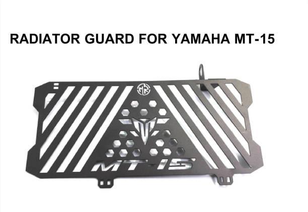 imad RADIATOR GUARD YAMAHA MT-15 (BLACK) Bike Radiator Guard