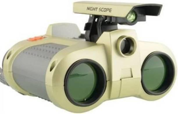 Rapport Night Vision Children 4x30 Zoom Night Scope Binoculars with LED POP Up Light Telescope Fun Cool Toy Gift for Kids Binoculars Binoculars