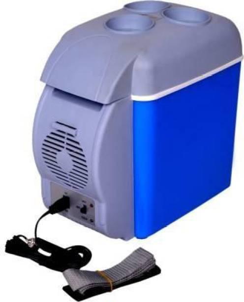 F1RSTLY cooling & warming Portable frigde 7.5 L Car Refrigerator