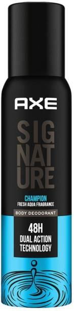 AXE Signature Champion No Gas Body Deodorant For Men Deodorant Spray  -  For Men