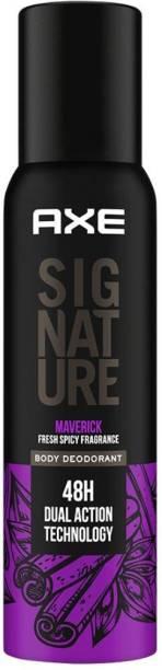 AXE Signature Maverick Long Lasting No Gas Body Deodorant For Men Deodorant Spray  -  For Men
