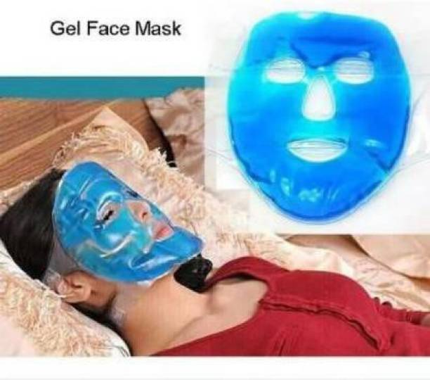 h&d craft Cooling Gel Mask with Strap-on Velcro, Medium (PACK OF 1)  Face Shaping Mask