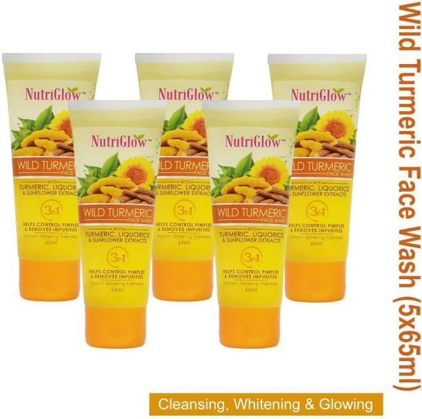 NutriGlow 5 WILD TURMERIC FACE WASH Face Wash