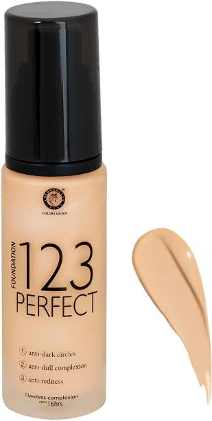COLORS QUEEN 123 PERFECT FOUNDATION Foundation