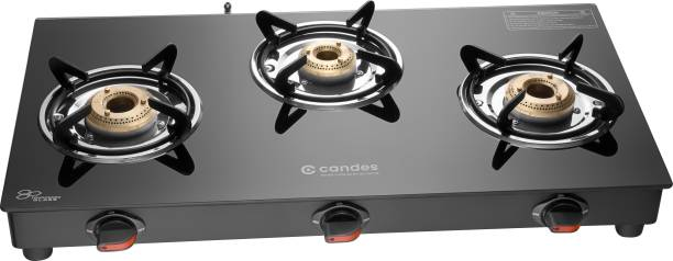 Candes Magma 3B Glass Manual Gas Stove
