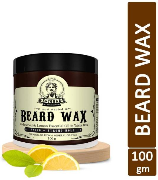 ESCOBAR Most Wanted Beard Wax For Strong Hold - Men's Magnetic personality Beard Gel