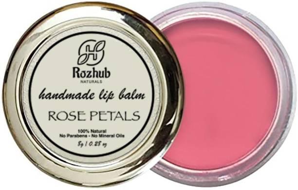 Rozhub Naturals Rose Petal Lip Balm Rose Petal