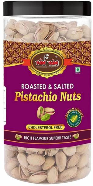 YUM YUM Premium Roasted & Salted Pista 500g Pistachios
