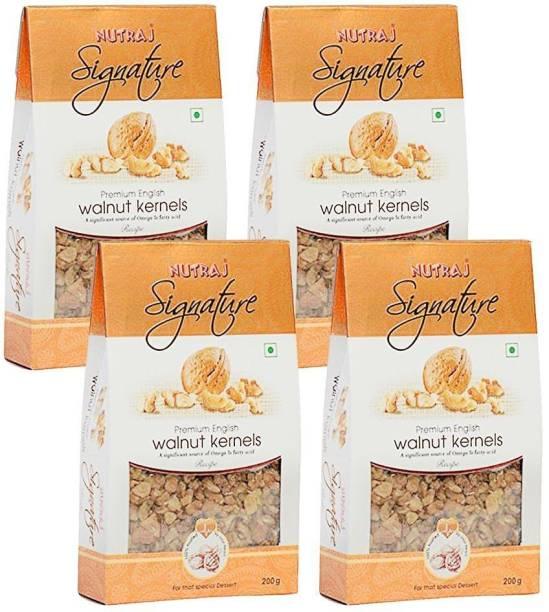 Nutraj Signature Premium English Walnut Kernels (Akhort Giri) Walnuts