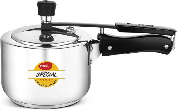 Pigeon by Pigeon Stainless Steel 2 L Induction Bottom Pressure Cooker