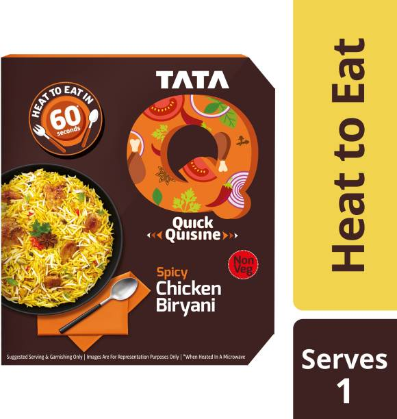 Tata Q Spicy Chicken Biryani 330 g