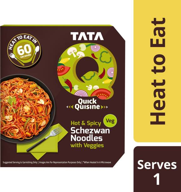Tata Q Hot and Spicy Schezwan Noodles with Veggies 290 g