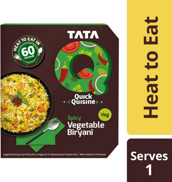 Tata Q Spicy Vegetable Biryani 330 g