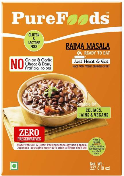 PureFoods Ready to eat Rajma Masala 454 g