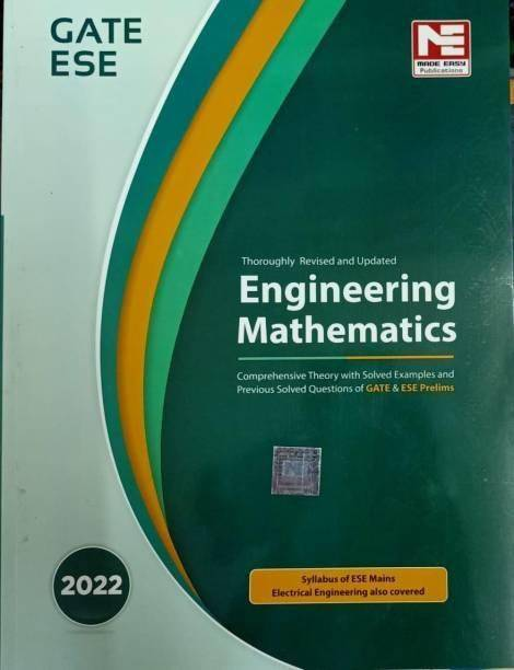 MADE EASY Engineering Mathematics For GATE & ESE 2022 (Paperback, MADE EASY Editorial Board)