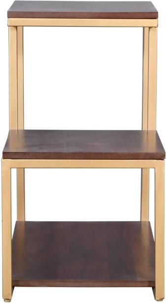 PRITI Engineered Wood Corner Table