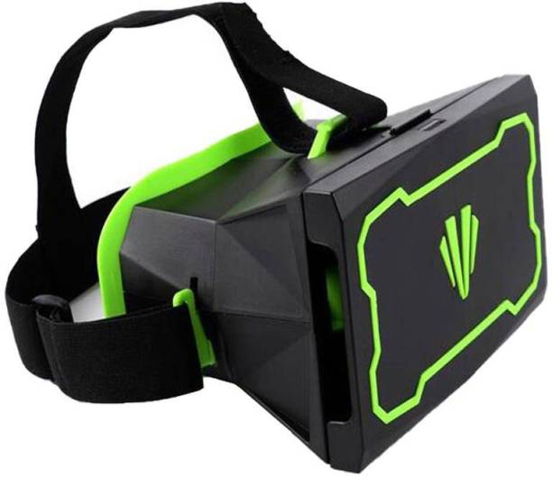 Gadget Hero's VR Virtual Reality Glasses Headset For 3D Videos Movies Games For 4.5 To 6 Inch Mobile Phones