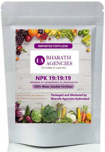 Bharath Agencies - NPK 19-19-19 | Plant Fertilizer | Plant Nutrient | Plant Food - 2000 Grams - Fertilizer