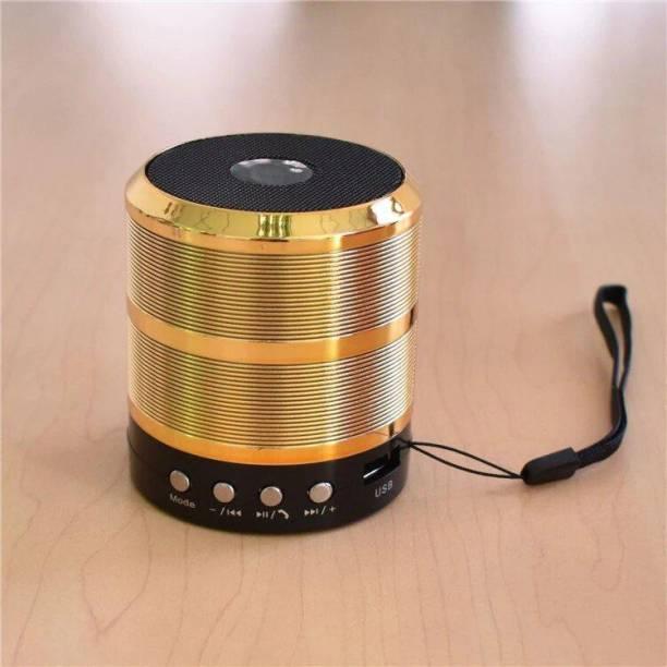 wazny WS-887 Mini with Mic Bluetooth Speaker 10 W Bluetooth Speaker