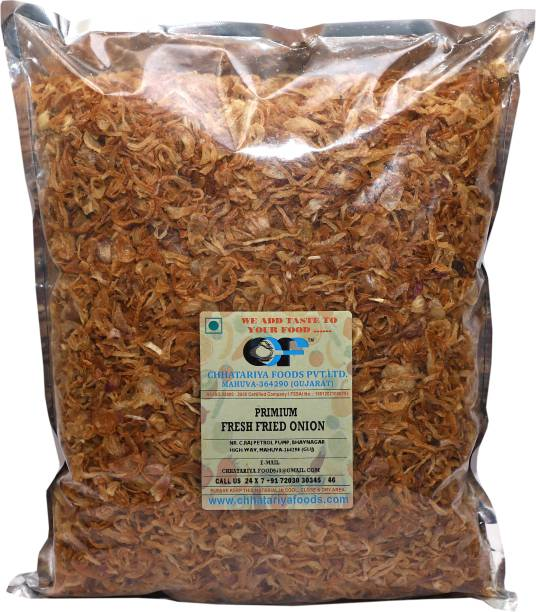 Chhatariya Foods PRIMIUM FRESH FRIED ONION 400