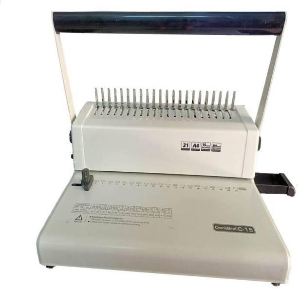 verena C15 A4 manual 21 holes plastic comb binding machine Manual Comb Binder