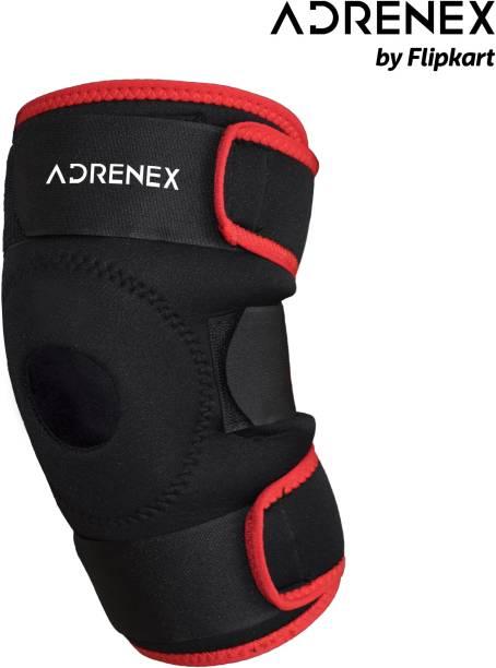 Adrenex by Flipkart Knee Support Patella (Pair) / Neoprene Padded, Adjustable Knee Cap Knee Support