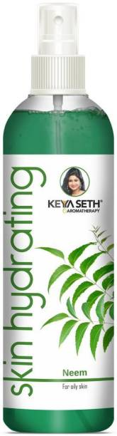 KEYA SETH AROMATHERAPY Skin Hydrating Neem Toner-Anti Acne & Pimple for Oily Skin & Revitalizing Natural Glow Enriched with Pure Neem & Sweet Geranium Essential Oil Men & Women