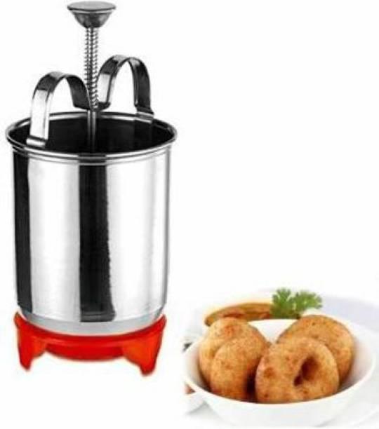 Shopixo Madun Vada Maker Machine for Kitchen Stainless Steel Madu Vada Machine, Madu Machine Vada Maker