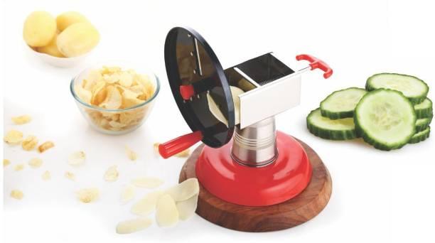 HELOVIA Wafer Maker/Vegetable Cutter/Vegetable and Fruit Slicer/Potato Slicer/Vegetable Slicer Waffle Maker Waffle Maker
