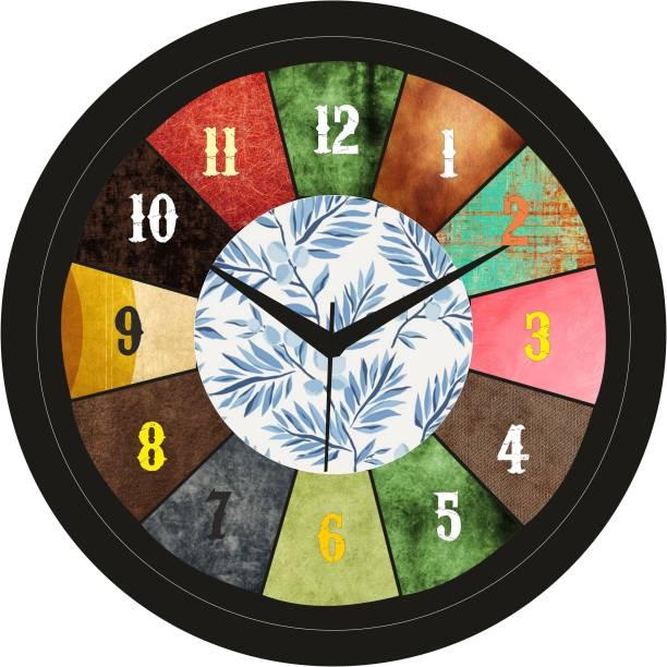 Crafts World Analog 26 cm X 26 cm Wall Clock