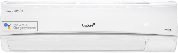 LIVPURE 1.5 Ton 5 Star Split Inverter Smart AC with Wi-fi Connect  - White