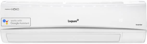 LIVPURE 1 Ton 3 Star Split Inverter Smart AC with Wi-fi Connect  - White